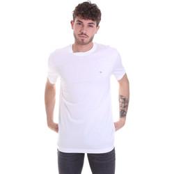 Oblačila Moški Majice s kratkimi rokavi Calvin Klein Jeans K10K106360 Biely