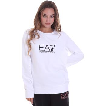 Oblačila Ženske Puloverji Ea7 Emporio Armani 8NTM39 TJ31Z Biely