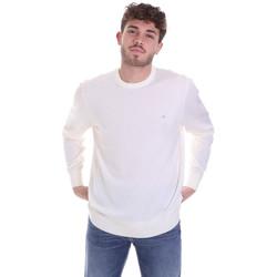 Oblačila Moški Puloverji Calvin Klein Jeans K10K102727 Biely