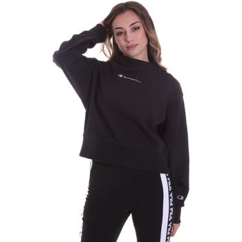 Oblačila Ženske Puloverji Champion 113189 Črna