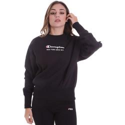 Oblačila Ženske Puloverji Champion 113314 Črna