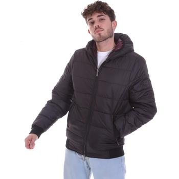 Oblačila Moški Puhovke Gaudi 021GU35007 Črna