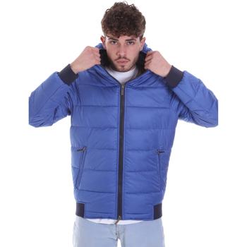 Oblačila Moški Puhovke Gaudi 021GU35007 Modra