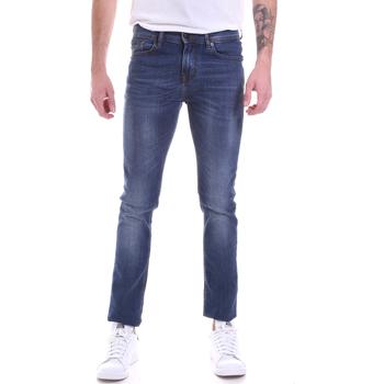 Oblačila Moški Kavbojke slim Gaudi 021GU26001L32 Modra