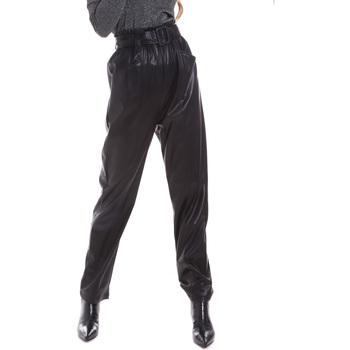 Oblačila Ženske Hlače Chino / Carrot Liu Jo WF0233 E0392 Črna