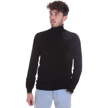Oblačila Moški Puloverji Gaudi 021GU53003 Črna