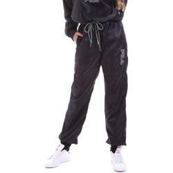 Oblačila Ženske Spodnji deli trenirke  Fila 682873 Črna