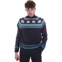 Oblačila Moški Puloverji Gaudi 021GU53046 Modra