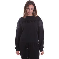 Oblačila Ženske Puloverji Freddy F0WTBS1 Črna