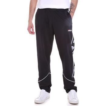 Oblačila Moški Spodnji deli trenirke  Fila 687707 Črna