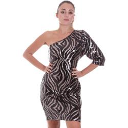 Oblačila Ženske Kratke obleke Liu Jo WF0228 J4033 Črna