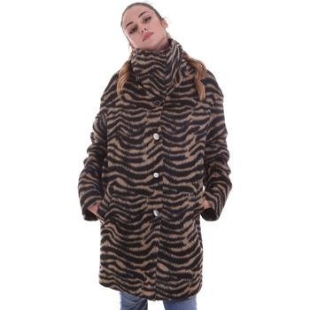Oblačila Ženske Plašči Liu Jo WF0231 T4572 Črna