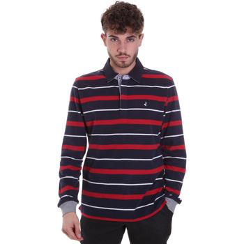 Oblačila Moški Polo majice dolgi rokavi Navigare NV30030 Modra