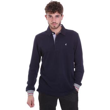 Oblačila Moški Polo majice dolgi rokavi Navigare NV32023 Modra