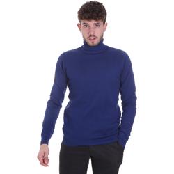 Oblačila Moški Puloverji Sseinse MI1671SS Modra