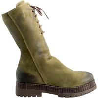 Čevlji  Ženske Polškornji Bueno Shoes 20WM3006 Zelena
