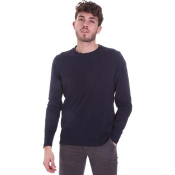 Oblačila Moški Majice z dolgimi rokavi Sseinse MI1691SS Modra