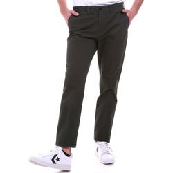 Oblačila Moški Hlače Chino / Carrot Navigare NV55187 Zelena
