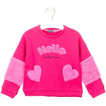 Oblačila Deklice Puloverji Losan 026-6023AL Roza