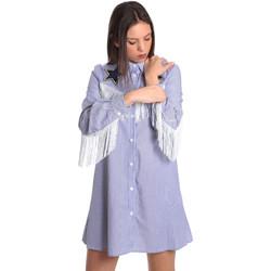 Oblačila Ženske Kratke obleke Denny Rose 811DD10018 Modra