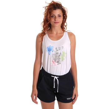 Oblačila Ženske Trenirka komplet Key Up 5K78A 0001 Biely