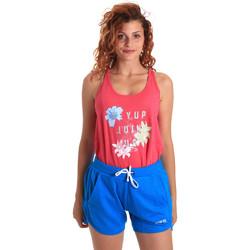 Oblačila Ženske Trenirka komplet Key Up 5K78A 0001 Roza