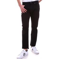 Oblačila Moški Hlače s 5 žepi Navigare NV53095 Črna