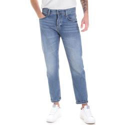 Oblačila Moški Jeans straight Antony Morato MMDT00226 FA700111 Modra