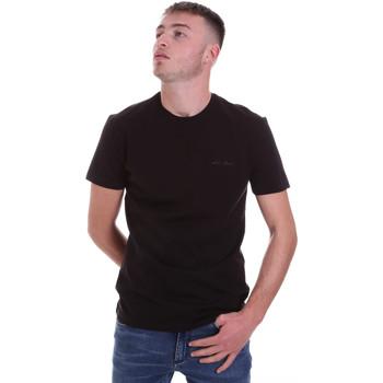 Oblačila Moški Majice s kratkimi rokavi Antony Morato MMKS01855 FA120022 Črna