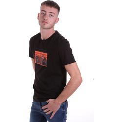 Oblačila Moški Majice s kratkimi rokavi Antony Morato MMKS01880 FA100144 Črna