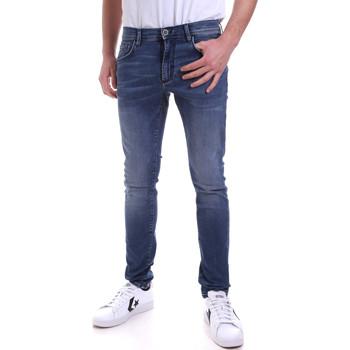 Oblačila Moški Jeans skinny Antony Morato MMDT00234 FA750251 Modra