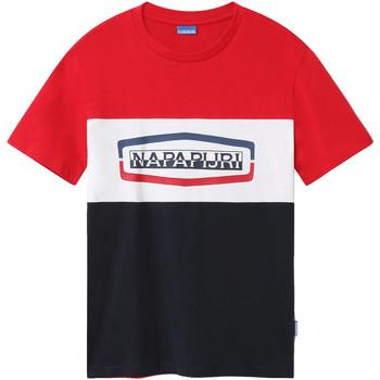 Oblačila Moški Majice s kratkimi rokavi Napapijri NP0A4FDH Modra