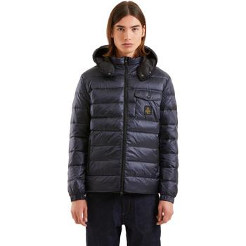Oblačila Moški Puhovke Refrigiwear RM5G06600NY9132 Modra
