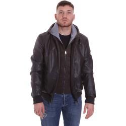 Oblačila Moški Jakne Roberto Cavalli FST407 Rjav