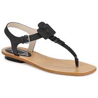 Čevlji  Ženske Sandali & Odprti čevlji Marc Jacobs CHIC CALF Črna