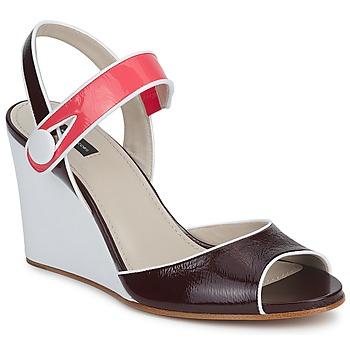 Čevlji  Ženske Sandali & Odprti čevlji Marc Jacobs VOGUE GOAT Bordo / Rožnata