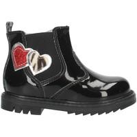 Čevlji  Deklice Gležnjarji NeroGiardini I021503F Black