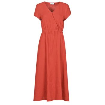 Oblačila Ženske Dolge obleke Betty London ODAME Terracotta