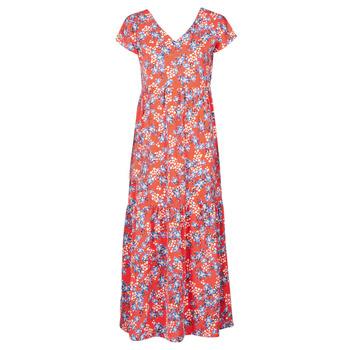 Oblačila Ženske Dolge obleke Betty London ODE Rdeča / Večbarvna