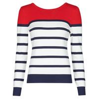 Oblačila Ženske Puloverji Betty London ORALI Rdeča / Kremno bela