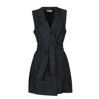 Oblačila Ženske Kratke obleke Moony Mood OLALA Črna