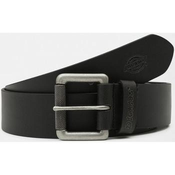 Tekstilni dodatki Moški Pasovi Dickies South shore leather belt Črna