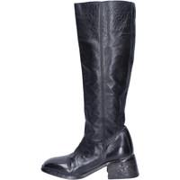 Čevlji  Ženske Mestni škornji    Moma BJ236 Črna