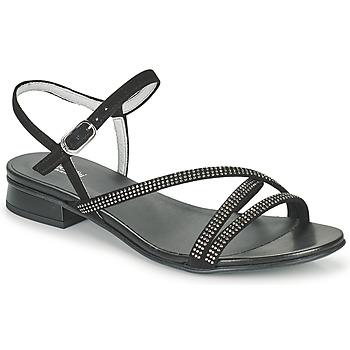 Čevlji  Ženske Sandali & Odprti čevlji NeroGiardini TEDDY Črna