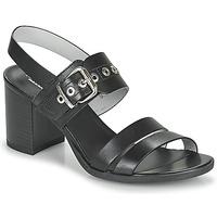 Čevlji  Ženske Sandali & Odprti čevlji NeroGiardini GHILLO Črna