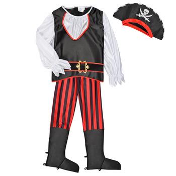 Oblačila Dečki Kostumi Fun Costumes COSTUME ENFANT PIRATE TOM Večbarvna