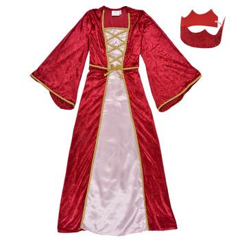 Oblačila Deklice Kostumi Fun Costumes COSTUME ENFANT REINE DE LA RENAISSANCE Večbarvna