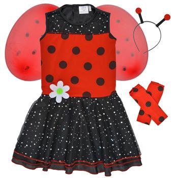 Oblačila Deklice Kostumi Fun Costumes COSTUME ENFANT BIRDIE BEETLE Večbarvna