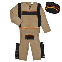 Oblačila Dečki Kostumi Fun Costumes COSTUME ENFANT INDIEN BIG BEAR Večbarvna