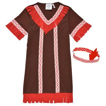 Oblačila Deklice Kostumi Fun Costumes COSTUME ENFANT INDIENNE FOX KITTEN Večbarvna